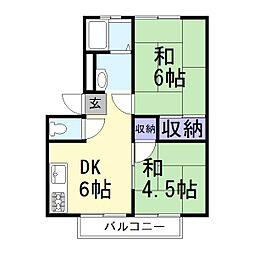 サンシティ米田B[103号室]の外観