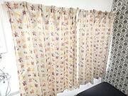 カーテンも設置されているので、プライバシーもばっちり。