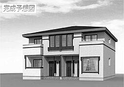 広島県福山市城興ケ丘の賃貸アパートの外観