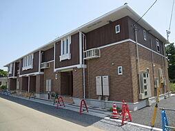 茨城県ひたちなか市大字高場の賃貸アパートの外観