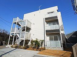 東京都足立区南花畑4丁目の賃貸アパートの外観