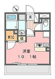 ガーデンコート元町Ⅱ[2階]の間取り
