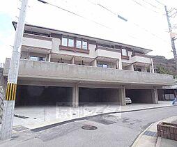 京都府京都市山科区小山小川町の賃貸アパートの外観