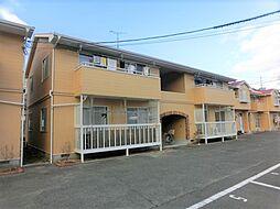 広島県広島市安佐南区高取北3丁目の賃貸アパートの外観