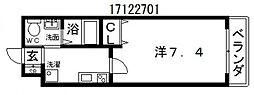 マークス昭和町[3階]の間取り