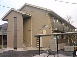 広島県広島市南区向洋中町の賃貸アパートの外観