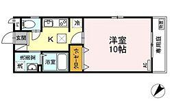プリメーラ石井城上[2階]の間取り