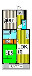 ソリッドリファイン蕨[6階]の間取り