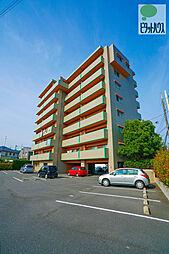 岡山県岡山市東区中尾の賃貸マンションの外観