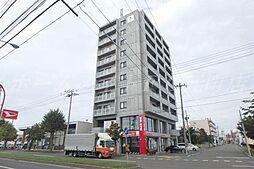 北海道札幌市東区北二十八条東16丁目の賃貸マンションの外観