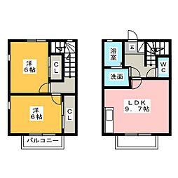 [一戸建] 静岡県浜松市西区神ケ谷町 の賃貸【静岡県/浜松市西区】の間取り