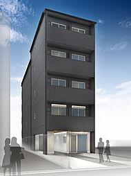 仮称)西院平町新築マンション[501号室]の外観