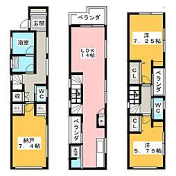 尾久駅 22.2万円