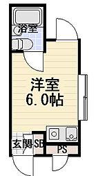 メゾン桃町[4階]の間取り