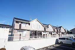 茨城県日立市滑川町2丁目の賃貸アパートの外観
