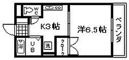 アットハウスMATSUTANI3[102号室]の間取り