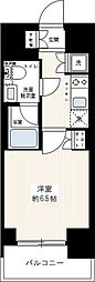 リヴシティ川崎[603号室]の間取り