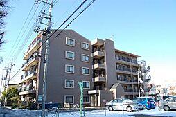 埼玉県草加市中根1丁目の賃貸マンションの外観