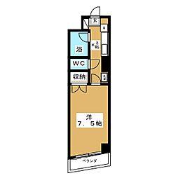 エトワール青森第1[5階]の間取り
