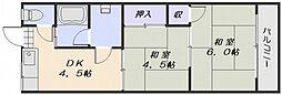山陽荘[1階]の間取り