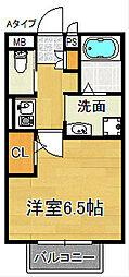 セジュールMATUFUJI[2階]の間取り