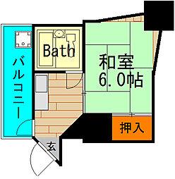 シャトー元町[2階]の間取り