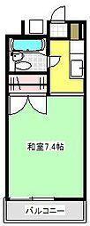 コーポ鈴木[205号室]の間取り