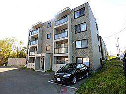 エレガント北斗B[1階]の外観