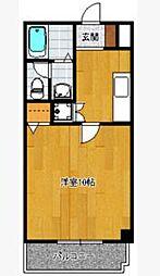 ソレイユ博多駅南[2階]の間取り