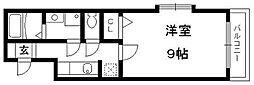 メゾンハーモニー[2階]の間取り