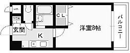 愛知県名古屋市千種区春岡1丁目の賃貸マンションの間取り