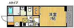 スリール[2階]の間取り