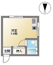 エイトビル江戸堀[4階]の間取り