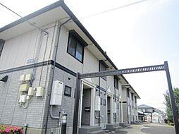 茨城県ひたちなか市はしかべ2丁目の賃貸アパートの外観
