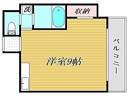 東京都豊島区池袋本町4丁目の賃貸アパートの間取り
