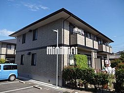 愛知県岡崎市真伝町字四反田の賃貸アパートの外観