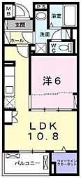 横浜市営地下鉄ブルーライン 上永谷駅 徒歩20分の賃貸マンション 1階1LDKの間取り