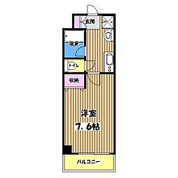 南新町マンション[1階]の間取り