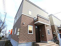 [テラスハウス] 北海道江別市野幌若葉町 の賃貸【/】の外観