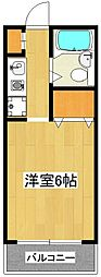 神奈川県川崎市高津区末長3の賃貸マンションの間取り