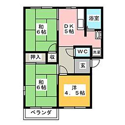 M3[2階]の間取り