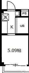 2002フォーライフ2番館[3階]の間取り