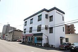 岡山県岡山市北区東古松2丁目の賃貸アパートの外観