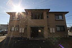 アンシャーリーB棟[2階]の外観