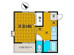 ijハウス南[1階]の間取り