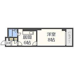 第3ファミール札幌[1階]の間取り
