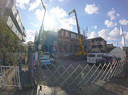 大阪府池田市満寿美町の賃貸アパートの外観