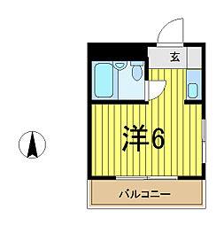 コンフォートマンション西川口[306号室]の間取り