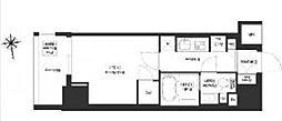 JR総武線 浅草橋駅 徒歩8分の賃貸マンション 11階1Kの間取り
