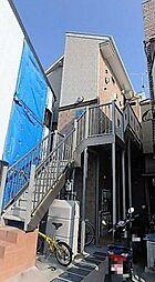 神奈川県横浜市神奈川区子安通1丁目の賃貸アパートの外観